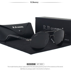 2017 New Brand polarized sunglasses for men Classic - Real Man Image