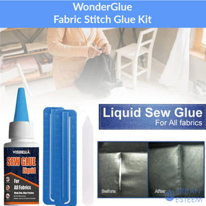 WonderGlue - Fabric Stitch Glue Kit