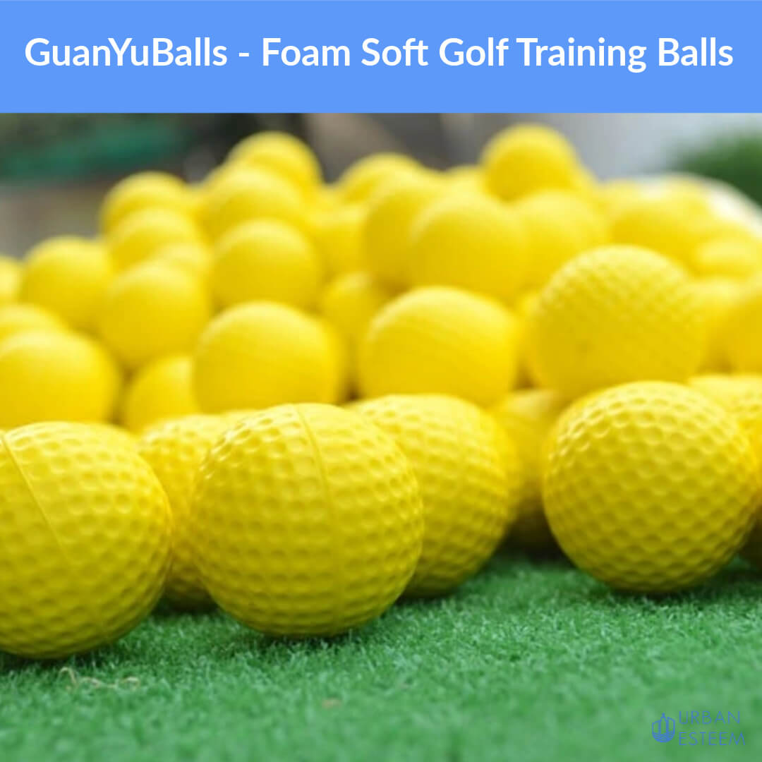 GuanYuBalls - Foam Soft Golf Training Balls