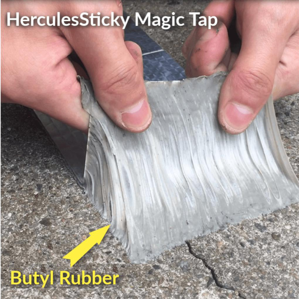 HerculesSticky - Durable Waterproof Magic Tape