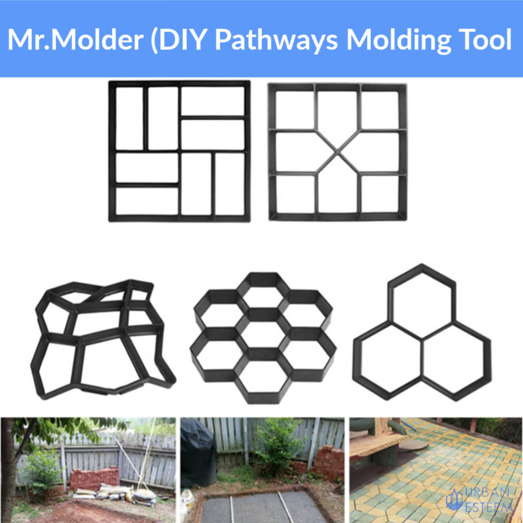 Mr.Molder (DIY Pathways Molding Tool)- MORE THAN 50% OFF Now - Limited Time ONLY!