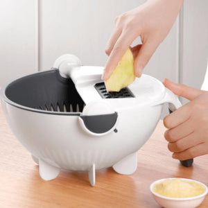 RotateSlicer - Multi-Function Vegetables Cutter
