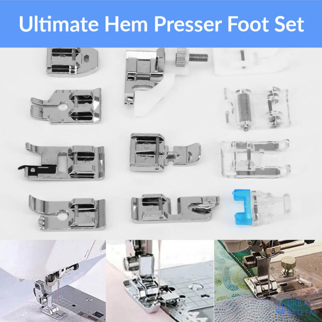Ultimate Hem Presser Foot Set