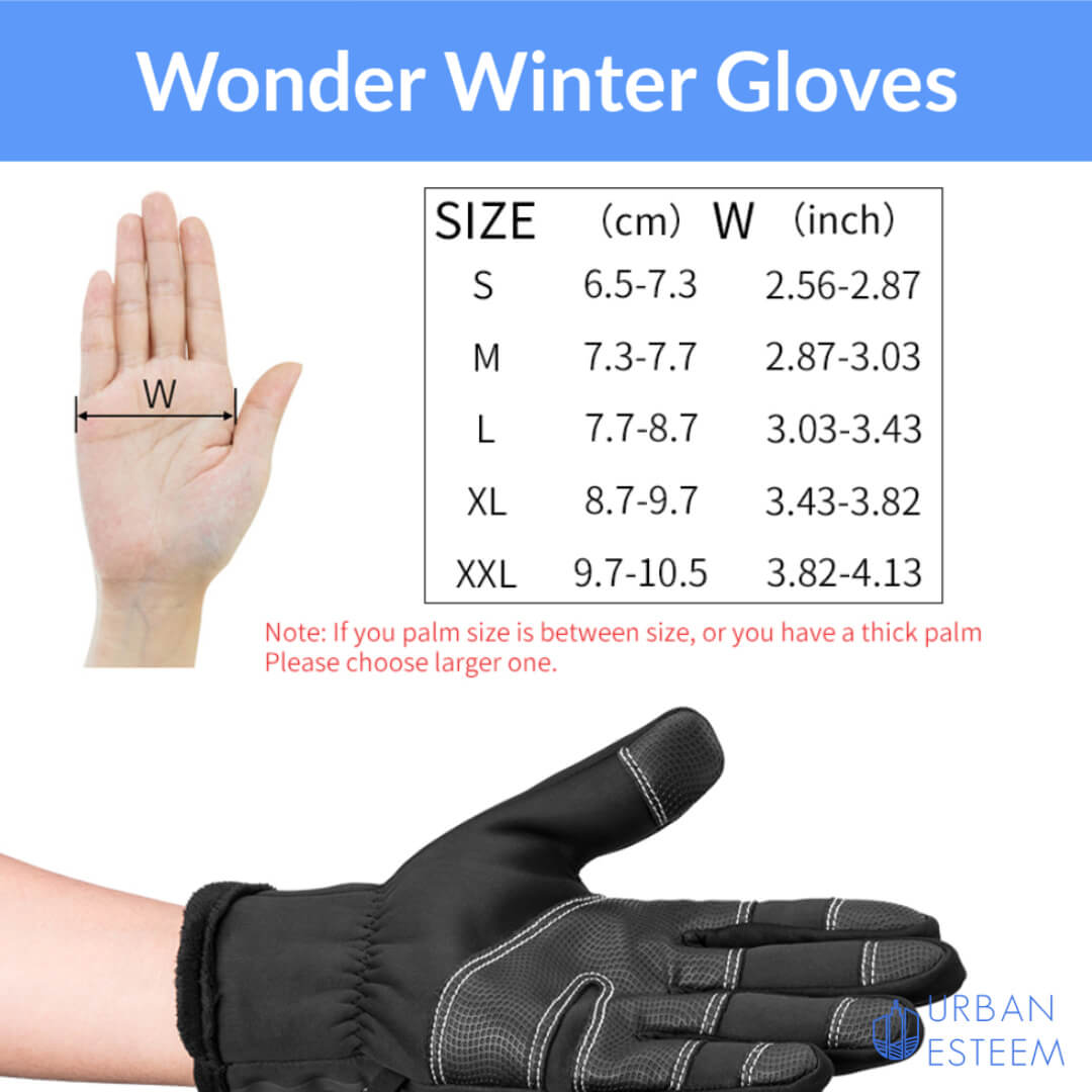WonderGloves (FREE Neck Warmer cum Face Mask)
