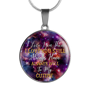 I Love You Then Necklace