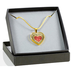 To My Future Wife - I Am So Lucky To Have Found You - I Love You So Much (Real 18k Gold Finish)