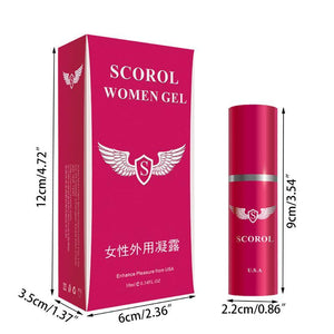 10ML Women Love Sex Climax Enhancement Female Orgasmic Gel-ZhenDuo Sex Shop