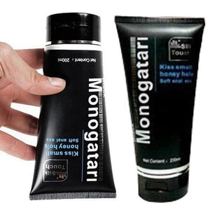 Silk Touch Black Monogatari Anal Lubricant Gel-ZhenDuo Sex Shop
