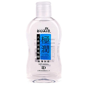 220ml DUAI Water Based Lubricant Massage Oil Anal Lube-ZhenDuo Sex Shop