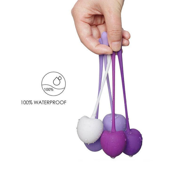 5Pcs Vaginal Bladder Tightening Kegel Ball Exercise Weights Ben Wa Balls-ZhenDuo Sex Shop