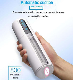 Ailighter Air Jet Intelligent Heating Voice Auto Sucking Masturbator-ZhenDuo Sex Shop