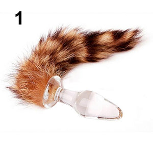 Animal Tail Butt Plug Sex Toy for Men/Women-ZhenDuo Sex Shop