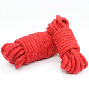 BDSM Bondage Restraint Soft Cotton Rope 10m-ZhenDuo Sex Shop