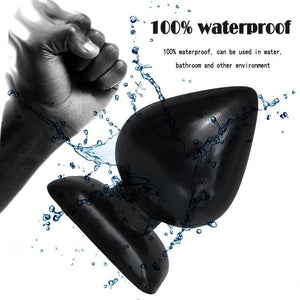 Huge Waterproof Suction Cup Anal Butt Plug-ZhenDuo Sex Shop
