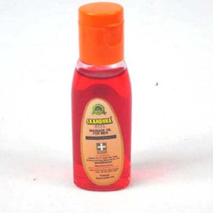 India Saandhha Hermal Ayurvedic Massage Oil for Men-ZhenDuo Sex Shop