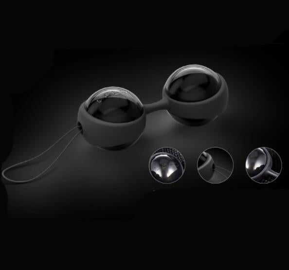 LELO Luna Beads Noir Luxury Ben Wa Balls-ZhenDuo Sex Shop
