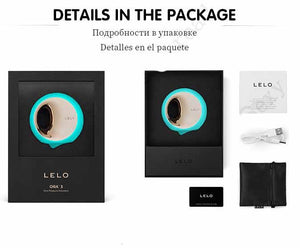LELO ORA 3 Intelligent Oral Pleasure Stimulator-ZhenDuo Sex Shop