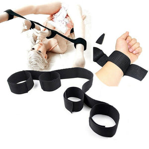 Nylon Wrist Ankle Bondage Handcuffs Straps BDSM Toy-ZhenDuo Sex Shop