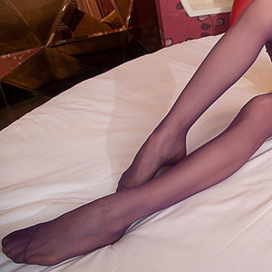 Women Sexy Open File Crotch Thin Stockings Pantyhose-ZhenDuo Sex Shop