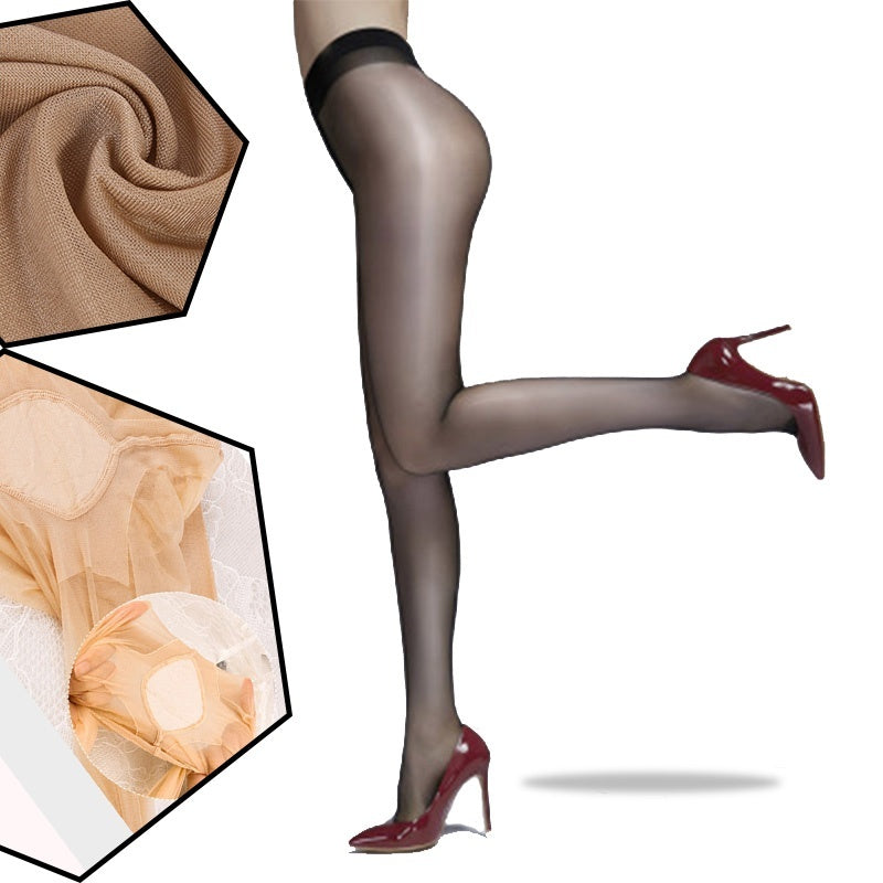 Women Oil Shiny Pantyhose Tights Sexy Lingerie Shaping Stockings-ZhenDuo Sex Shop