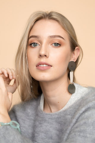 Bianca Mavrick Dumbell Earrings