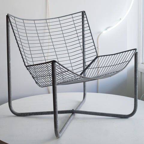 Fold Down Wire Chair