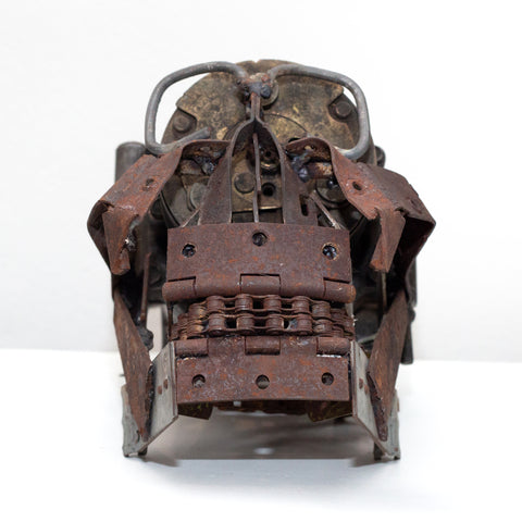 Steampunk Aviator Head / Skull Sculpture