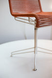 Vintage Orange Desk Chair