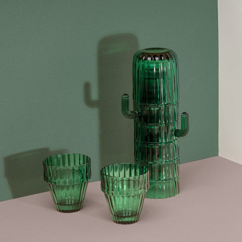 Cactus Large Glasses Set