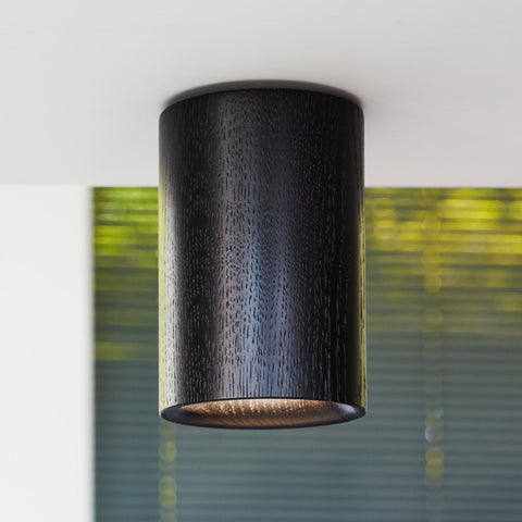 Terence Woodgate Solid Downlight Cylinder - Timber