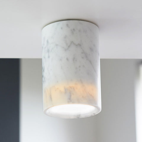 Terence Woodgate Solid Downlight - Carrara Marble