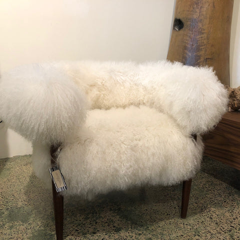 Fur Chair Designed by Tim Leveson