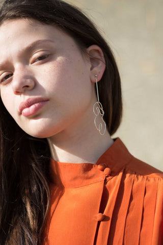 Knobbly Studio X Laurie Franck - Nude no.2 Earring Long