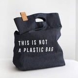 YACO Denim Shopper Bag