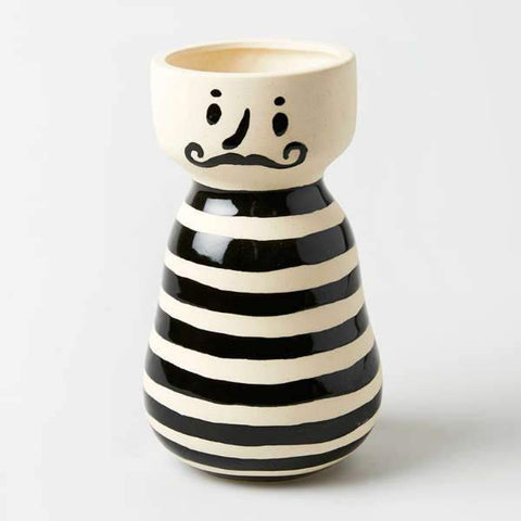 Mr Jacques Stripe Vase
