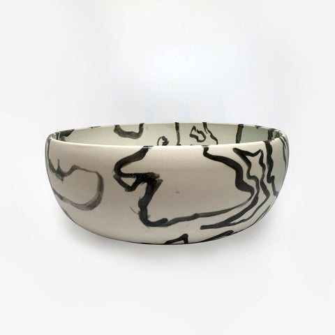 Swirl Ceramic Bowl