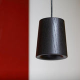 Terence Woodgate Solid Pendant Cone - Timber
