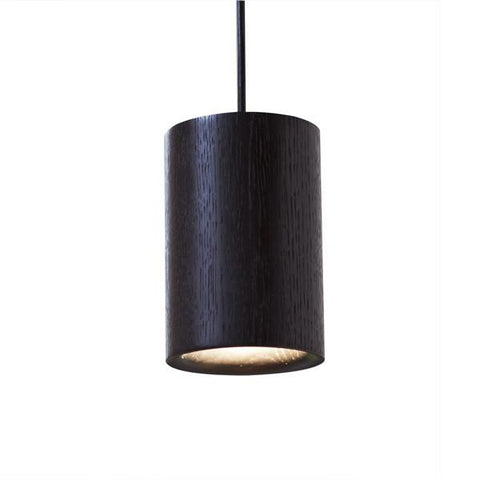 Terence Woodgate Solid Pendant Cylinder - Timber