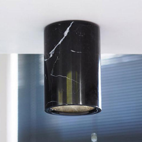 Terence Woodgate Solid Downlight - Nero Marquina Marble