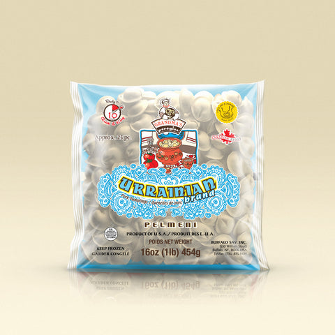 "Pork ""Ukrainian"" Dumplings (Pelmeni) 1Lb - 24 packs per box - iMarket.Site"