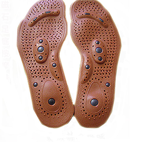 New Arrival Magnetic Therapy Magnet Health Care Foot Massage Insoles Men/ Women Shoe Comfort Pads - iMarket.Site