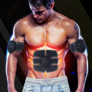 Smart EMS Electric Pulse Treatment. Abdominal Muscle Trainer. - iMarket.Site