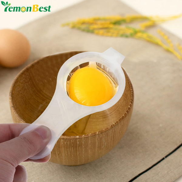 1Pc Handheld Egg Divider Eco Friendly Egg Yolk White Separator - iMarket.Site