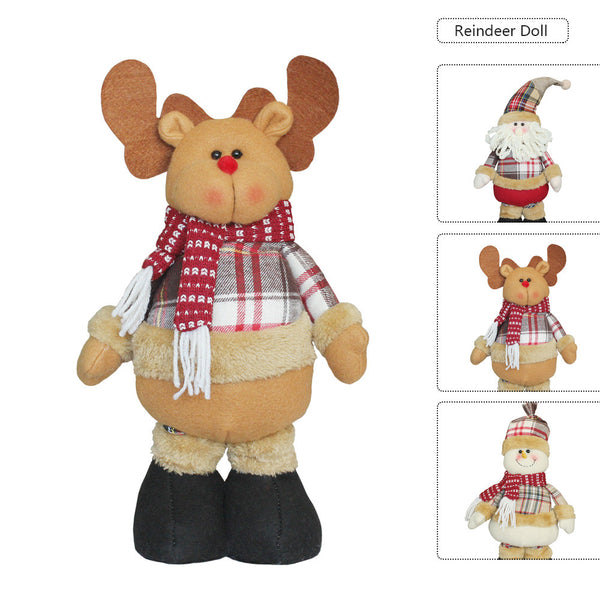 Christmas Decoration Doll Christmas Gift Christmas Tree Decoration Hanging Ornaments - iMarket.Site