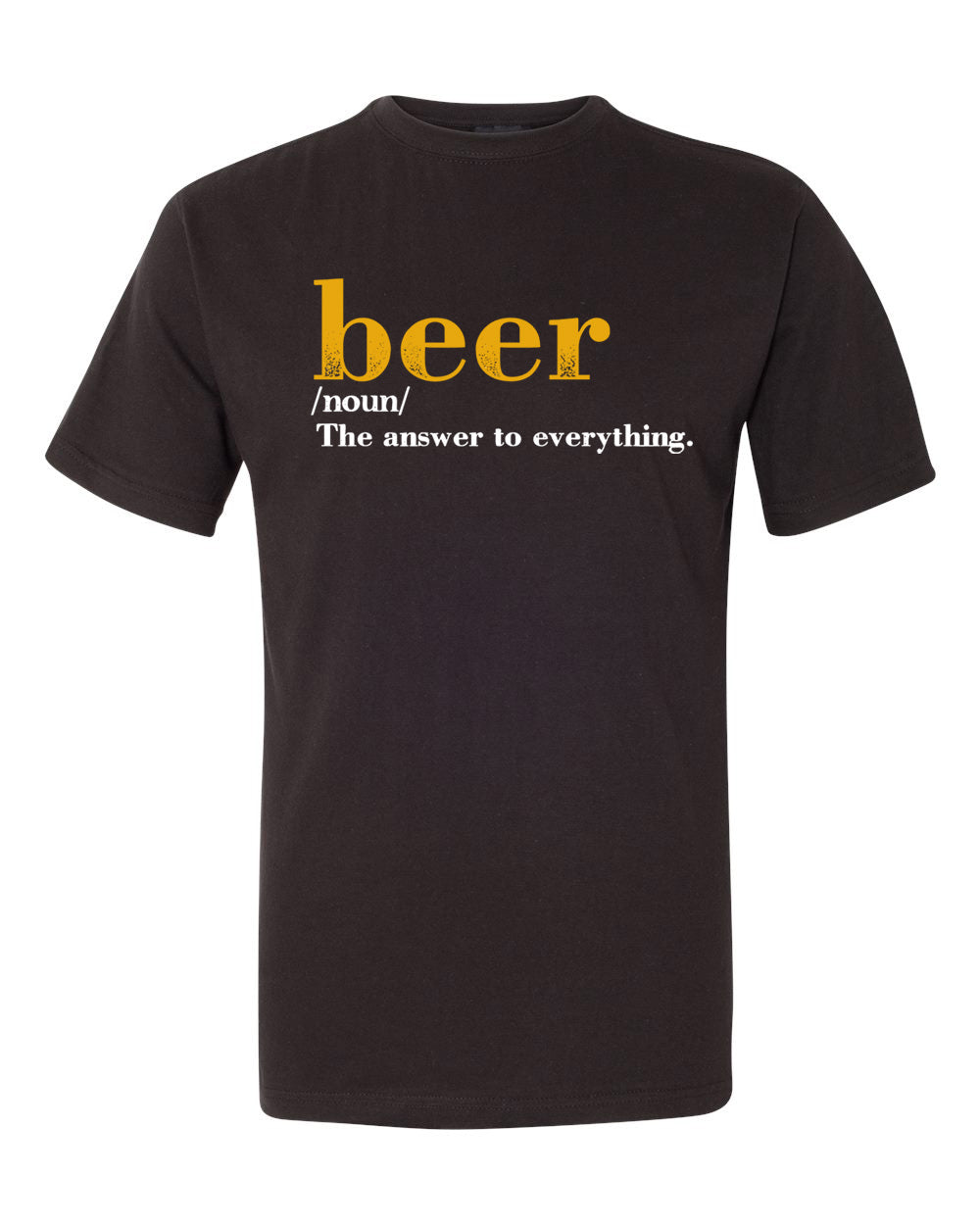 Bottle Opener Tee - Beer Definition - BeerShark