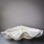 75cm Faux Giant - Clam Dark Base Pearl Interior