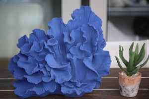 Aegean Blue Large Wave coral sculpture
