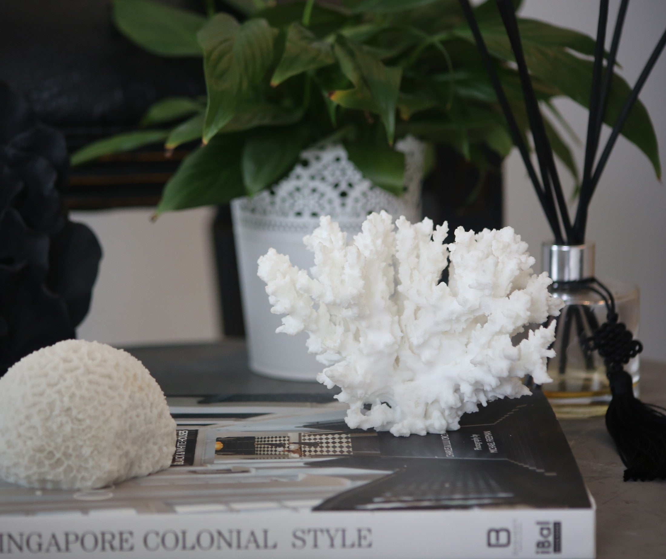 Faux  Lace Coral sculpture