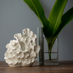 Small Wave Coral sculpture