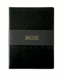 A5 BLACK & GOLD NOTEBOOK (BNG2)